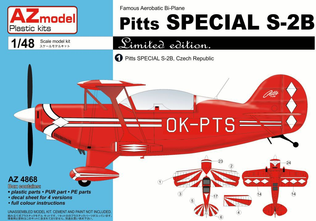 Pitts Special S2B 1:48